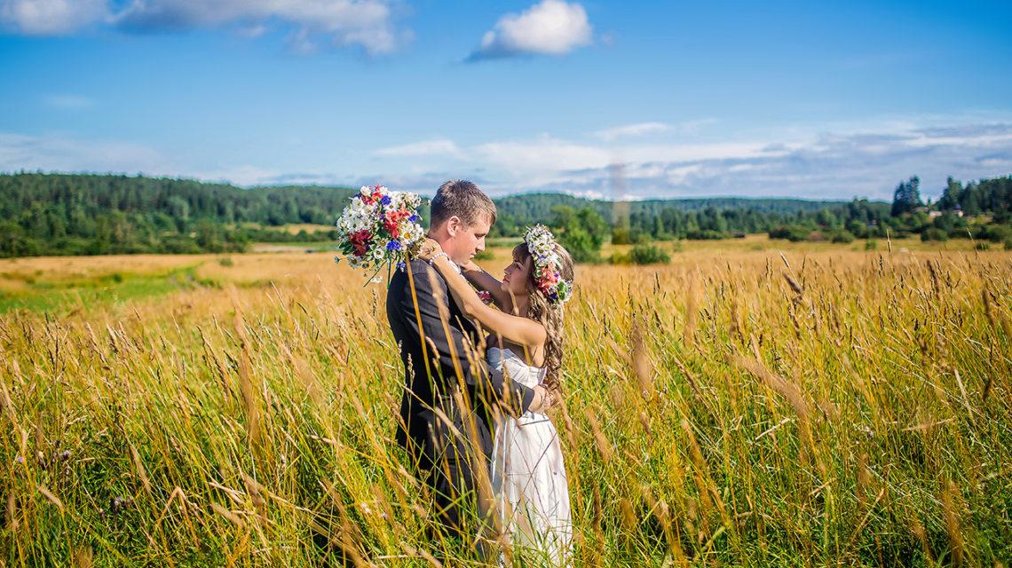 Неописуемая красота в Карелии. Свадебный день Дмитрия и Ольги